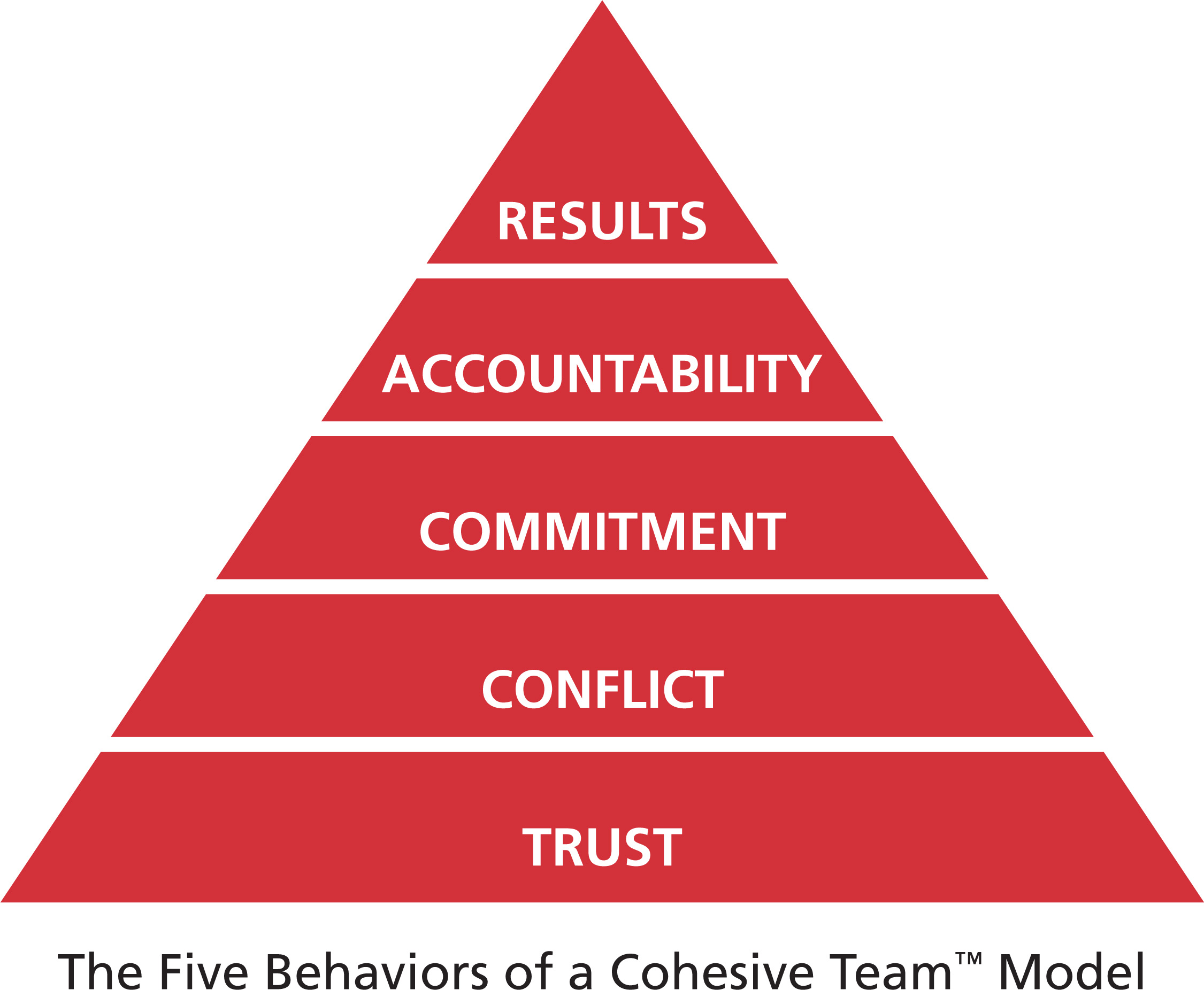 The Five Behaviors of a Cohesive Team:  How does it work at work?